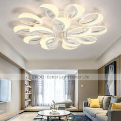 Acrylic Ceiling Home Light Fixtures Modern LED Bubble Shade Chandeliers Warm Coo