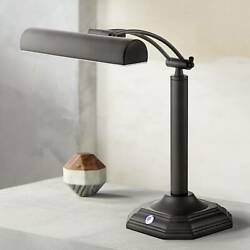 Piano Banker LED Desk Lamp Adjustable Black Bronze Metal Shade for Office Table $99.99