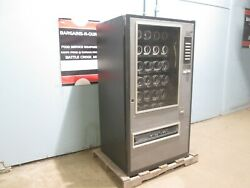 COMMERCIAL COIN OPERATED LIGHTED 30 SELECTIONS SNACKCIGARETTE VENDING MACHINE $499.99
