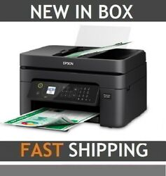 NEW Epson WorkForce WF-2830 All-in-One DUPLEX Color Printer SCAN COPY FAX SEALED $185.41