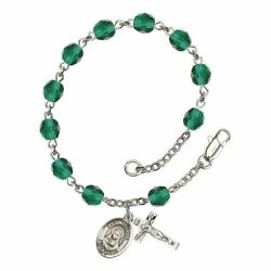 St. Rebecca Birthstone Rosary - Available in 12 Colors $47.25