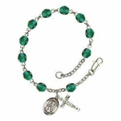 St. Matilda Birthstone Rosary - Available in 12 Colors $47.25