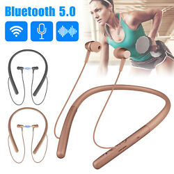 Wireless Headsets Earphones Bluetooth Neckband Headphones In Ear for iOS Android $13.48