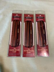 3X Kent 12T The Hand Made Thick Pocket Comb for Men 140mm5 Inch 1 Ounce $15.00