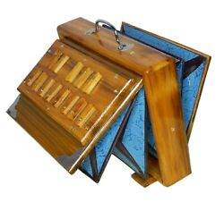 SHRUTI BOX SURPETI For YOGA BHAJAN 440Hz 13 NOTES TEAK WOOD 12quot; X 9quot; X 2.5quot; $147.75