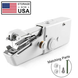 Mini Portable Smart Electric Tailor Stitch Hand-held Sewing Machine Charger US $14.24