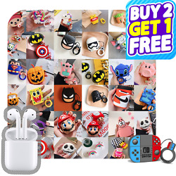 AirPods Cute 3D Cartoon Silicone Case cover For Airpod 1 amp; 2 Charging Case Best $9.99