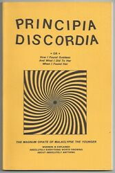 Principia Discordia by Malaclypse the Younger Loompanics 1980 qpb 2nd prt NEW $150.00