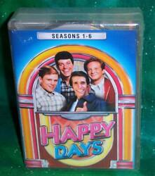 NEW HAPPY DAYS COMPLETE SEASONS 1-6 ONE TO SIX 22 DISC TV BOXED DVD SET PRIORITY $41.95