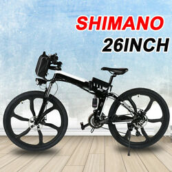 26in 250W Foldable Mountain Electric Bike Bicycle EBike E-Bike 21 Speed Powerful $764.99