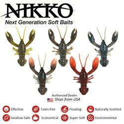 NEW NIikko CRAW, floating, durable, scented $14.88