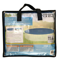 Intex 29022E 12 ft Easy Set and Frame Swimming Pool Solar Cover Tarp Blue  $44.00