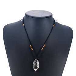 Natural Clear Crystal Quartz Point Healing Pendant Reiki Chakra Necklace Hot NEW $10.69