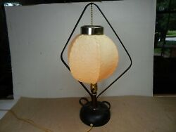 UNUSUAL vintage Mid-Century Modern TABLE LAMP Kitsch  $75.00