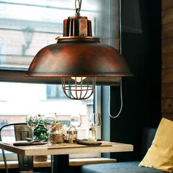 New Chandelier with Retro Industrial Iron Light Irradiation Area 10㎡ 15㎡ E27 $44.02