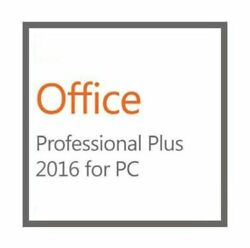 Microsoft Office 2016 Professional Plus 5PC -DVD - Genuine  $64.99