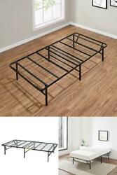 Foldable Steel Bed Frame Twin, Twin-XL, Full, Queen, King, California King $73.99