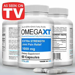 Official Omega XT Extra Strength Joint Support Omega 3 Joint Pain Relief 60ct $16.70