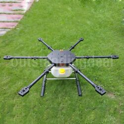 Agricultural FPV Hexacopter 6 Axis Carbon Fiber Plant Protection Drone Load 15KG $849.00