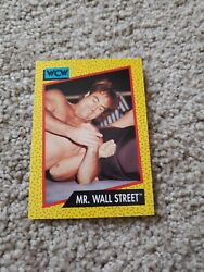 Wcw Vintage Card Mr. Wall Street 1991 impel $3.99