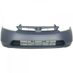 Primed Front Bumper Cover Fascia for 2006 2007 2008 Honda Civic 1.8 Sedan $80.00