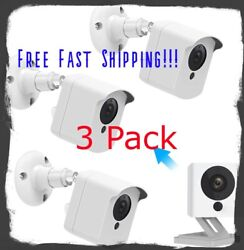 Wyze Cam Mount Security Camera Waterproof Indoor and Outdoor with Night Vision $14.99