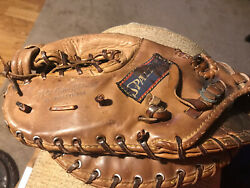 Spalding Pro Web 42 312 X Tender Control Back First Base Glove Left Hand Thrower $12.99