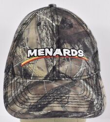 Camo Menards Home Improvement Store Embroidered baseball hat cap adjustable $5.56