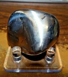 BEAUTIFUL 160 GM CAMPO DEL CIELO POLISHED & TUMBLED METEORITE!! $143.10