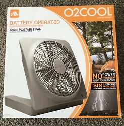 O2COOL 10 IN Portable Fan Battery Operated (Batteries Not Included) $36.00
