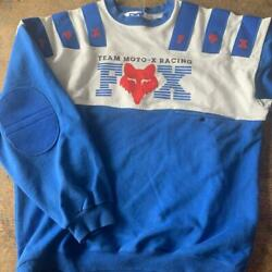 FOX Motocross jersey long sleeves trainer Size L off road $116.30