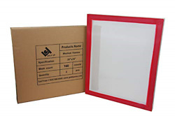 20 x 24 Inch Pre-Stretched Aluminum Silk Screen Printing Frames with 160 White 2 $52.19