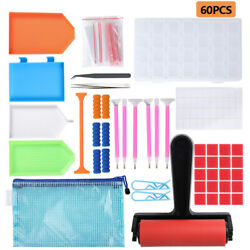 22 60 137PCs 5D Diamonds Painting Tools and Accessories Kits for DIY Art Crafts $10.99