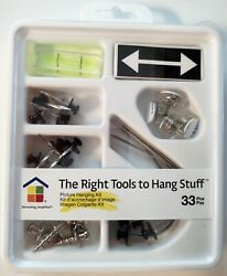 Picture Hanging Kit 33 Pieces $5.99