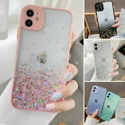 For iPhone 11 Pro Max XR XS MAX 8 7 Case Slim Bling Glitter Clear Girly Cover $7.92