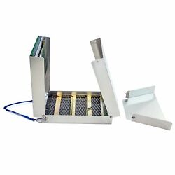 ASR Outdoor Portable Aluminum Folding Prospecting Gold Sluice Box 50 Inch $109.20