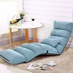 Folding Lazy Sofa Chair Comfortable and Durable Floor Sofa Chair Lounge Chair $77.89