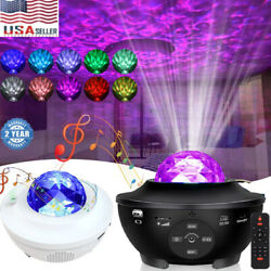 LED Starry Night Sky Galaxy Projector Lamp 3D Ocean Wave Star Light Party Decor $29.99