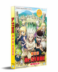 Dr. Stone DVD (Vol.1-24 end) with English Dubbed $19.98