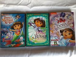 Nickelodeon Nick Jr Dora the Explorer DVD Lot of 3 $12.99
