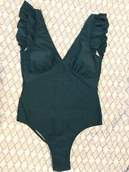 Cupshe one piece Green swimsuit Large $9.50
