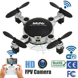 Mini Drone 1080P HD Camera RC quadcopter Foldable RC Drones WiFi FPV $18.68