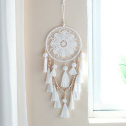 Handmade Dream Catcher Wall Bedroom DIY Boho Hanging Macrame Ornament Decor Gift $12.58