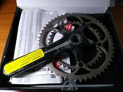 NEW 177.5mm 3953 Campagnolo Record Ultra Torque Crankset 10 Speed Bike Carbon $249.97
