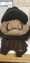 Evenflo Booster Brown Car Seat Fabric Cover Cushion Padding Replacement. $16.00