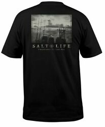 Mens Salt Life Another Day Graphic Short Sleeve T Shirt 2XL XL Large NWT $19.99
