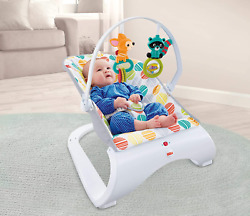 Infant to Toddler Rocker Baby Swing Bouncer Portable Child Rocking Sleeper Chair $35.67