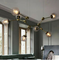 Nordic living room LED Glass pendant lighting bedroom dining room hanging lamps $579.00