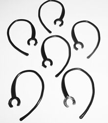 6 Bluetooth Headset Black Plastic Ear Hook Loop Replacement Clip for Plantronics $5.49