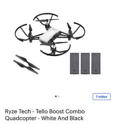 Ryze Tech Tello Boost Combo Quadcopter and Games T1s Controller Wireless $190.00